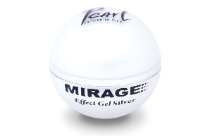 Pearl Nails Mirage Effect Gel Silver 15g