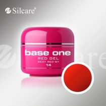 Silcare színes zselé Red  Sexy Red sy 5g 14