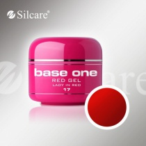 Silcare színes zselé Red  Lady in Red 5g 17